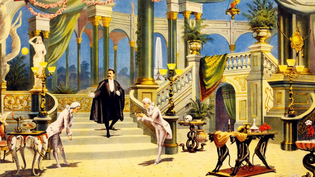 Iluzjonista - Historia Iluzji